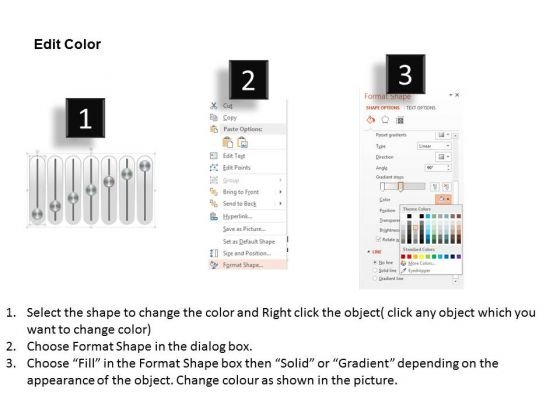 business_diagram_seven_staged_music_mixer_slider_diagram_presentation_template_3
