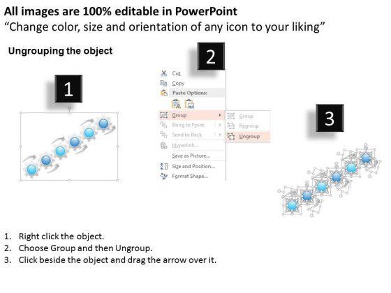 business_diagram_six_options_gear_process_presentation_template_2
