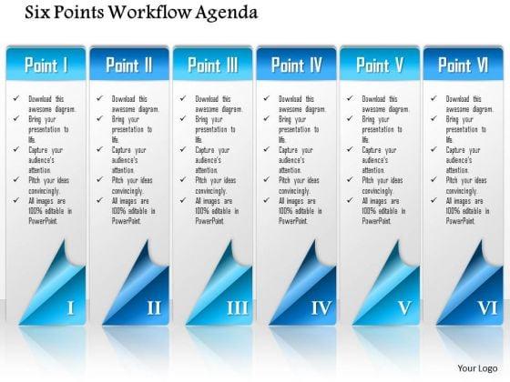 Agenda Design Templates 5 Items Ribbon Agenda Slide Template for – Agenda Design Templates