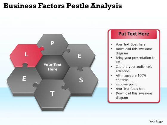 Business Diagram Templates PowerPoint Theme Process Pestlel Analysis Model Slides