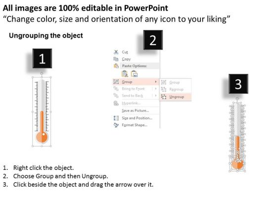 business_diagram_thermometers_for_competitive_analysis_presentation_template_2