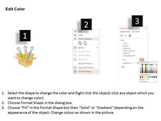 business_diagram_three_bulbs_in_carton_for_business_ideas_presentation_template_3