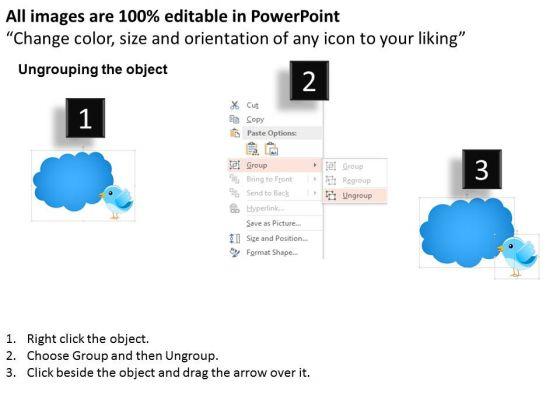 business_diagram_twitter_and_cloud_conversation_presentation_template_2