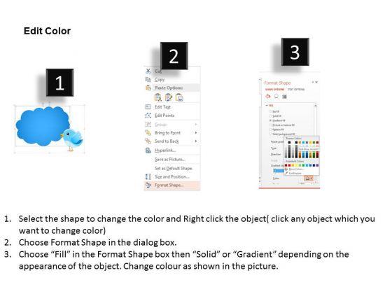 business_diagram_twitter_and_cloud_conversation_presentation_template_3