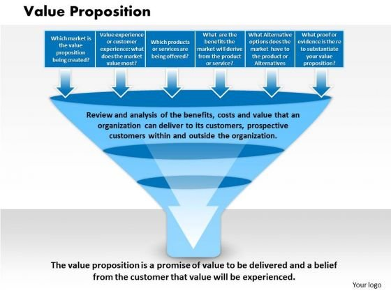 Business Diagram Value Proposition PowerPoint Ppt Presentation