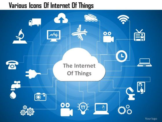business_diagram_various_icons_of_internet_of_things_presentation_template_1