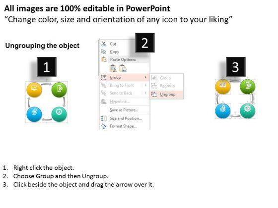business_diagram_vector_diagram_text_boxes_for_project_management_process_presentation_template_2