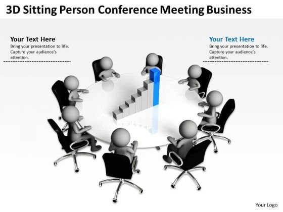 Business Diagrams Conference Meeting PowerPoint Templates Free Download Slides