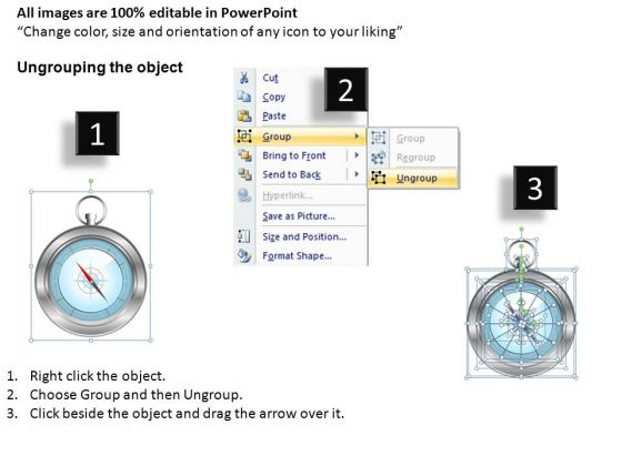 business_direction_navigation_compass_powerpoint_slides_and_compass_powerpoint_templates_2