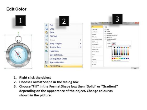 business_direction_navigation_compass_powerpoint_slides_and_compass_powerpoint_templates_3