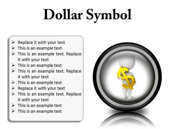 Business Dollar Finance PowerPoint Presentation Slides Cc