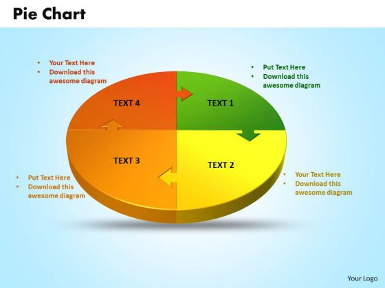 Business Editable PowerPoint Templates Business 3d Jigsaw Circular Pie Chart Ppt Slides