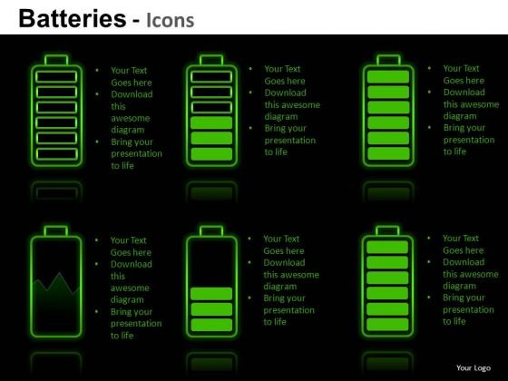 Business Energy Batteries PowerPoint Slides And Ppt Template Diagrams