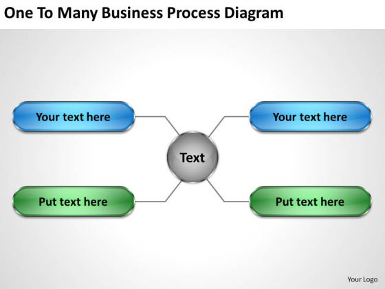 Business Entity Diagram PowerPoint Templates Download Process Slides