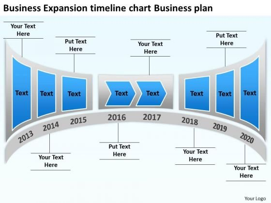 Business Expansion Timeline Chart Business Plan PowerPoint Templates Ppt Slides Graphics
