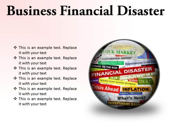 Business Financial Disaster Marketing PowerPoint Presentation Slides C