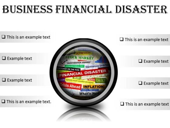Business Financial Disaster Marketing PowerPoint Presentation Slides Cc
