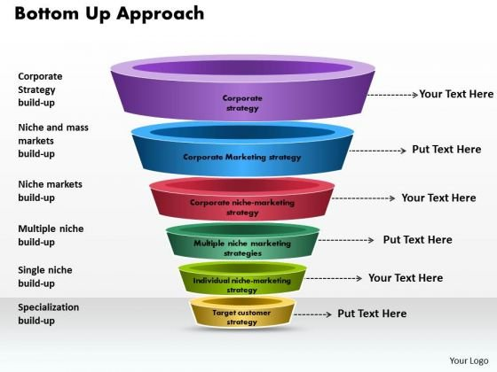 Business Framework Bottom Up Approach PowerPoint Presentation