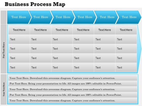 business framework business process mapping powerpoint presentation