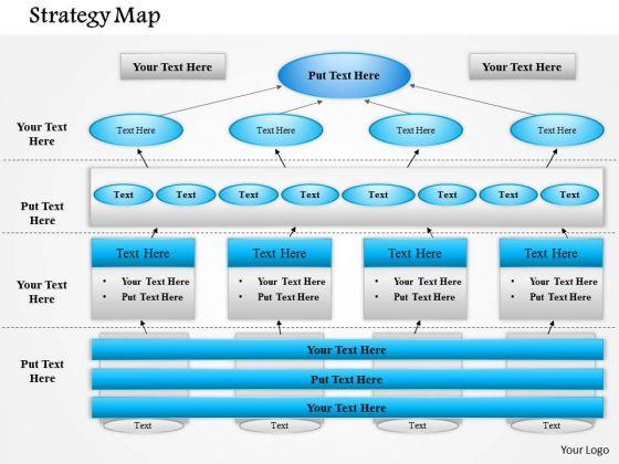 business framework business strategy map powerpoint presentation, Modern powerpoint