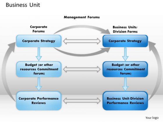 Business Framework Business Unit PowerPoint Presentation