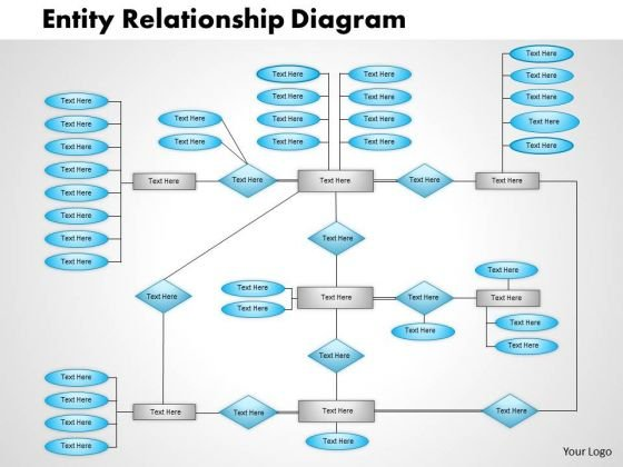 Business Framework Entity Relationship Diagram Powerpoint