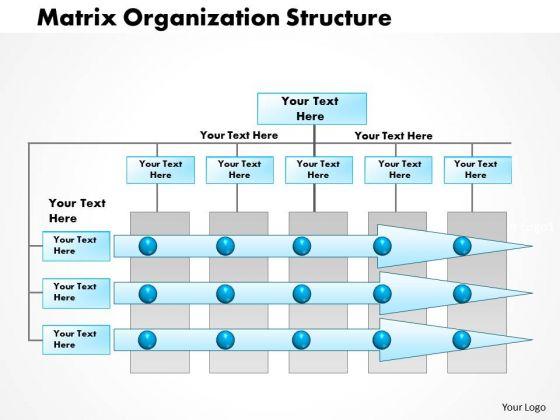 Business Framework Matrix Organization Project Management Powerpoint