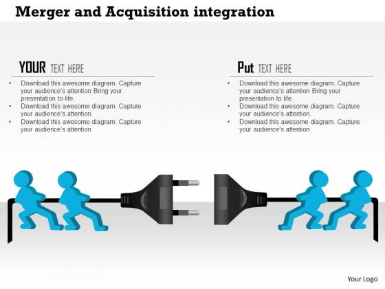 Business Framework Merger And Acquisition Integration PowerPoint Presentation