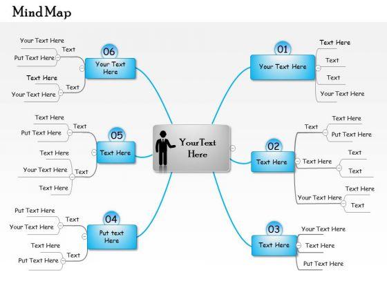 Business Framework Mindmap Download 2 PowerPoint Presentation