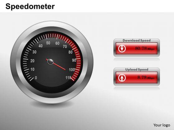 Business Framework PowerPoint Speedometer PowerPoint Presentation