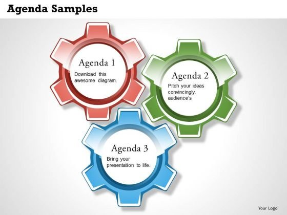 Business Framework Presentation Agenda PowerPoint Presentation