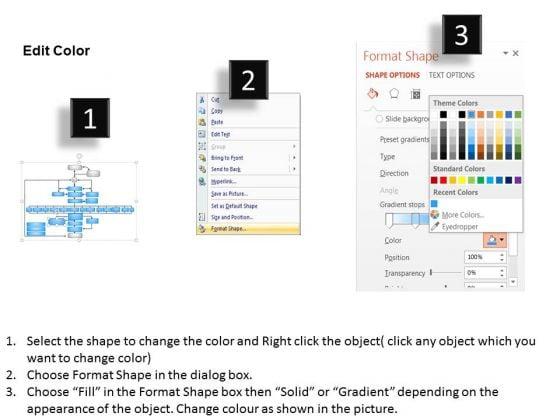 business_framework_project_management_flow_chart_powerpoint_presentation_3