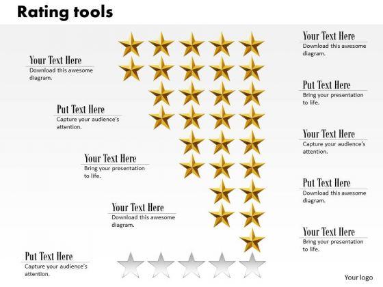 Business Framework Rating Tools PowerPoint Presentation