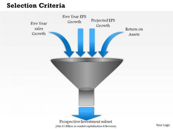 Business Framework Selection Criteria PowerPoint Presentation