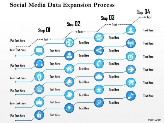 Business Framework Social Media Data Expansion Process PowerPoint Presentation