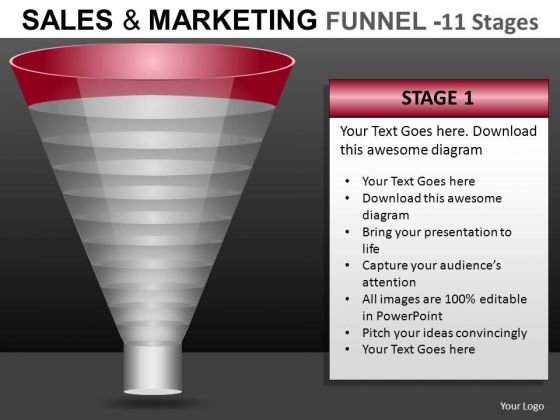 Business Funnel PowerPoint