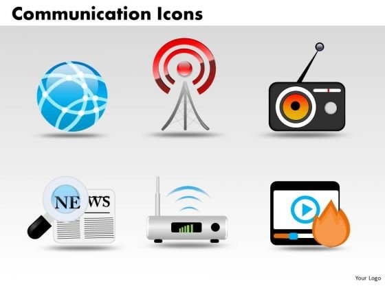 Business Global PowerPoint Templates Business Communication Icons Ppt Slides