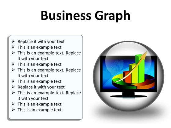Business Graph Finance PowerPoint Presentation Slides C