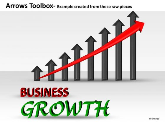 Business Growth Editable PowerPoint Slides And Ppt Diagram Templates