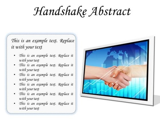 Business Handshake PowerPoint Presentation Slides F