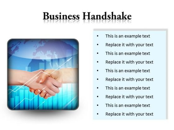 Business Handshake PowerPoint Presentation Slides S