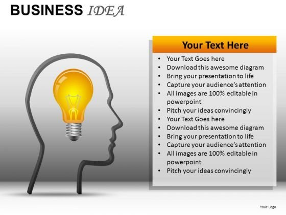 Business Idea PowerPoint Templates Ideas Ppt Slides