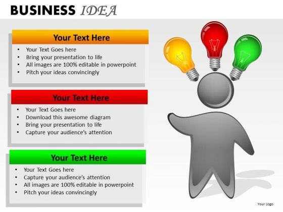 Business Ideas PowerPoint Slides Ppt Graphics