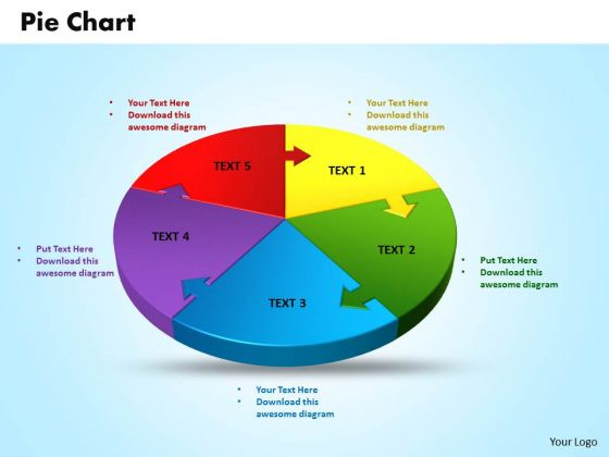 Business Image PowerPoint Templates Business 3d Jigsaw Circular Pie Chart Ppt Slides