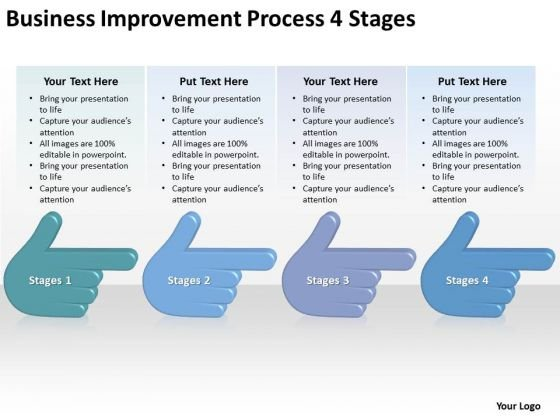 Business Improvement Process 4 Stages Ppt Farm Plan Template PowerPoint Templates