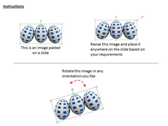 business_integration_strategy_3d_eggs_with_checked_texture_icons_2