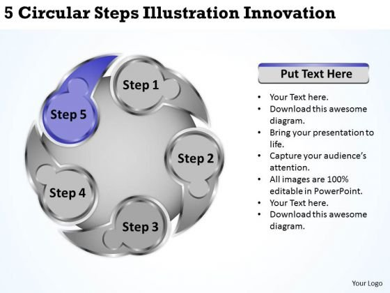 Business Integration Strategy Steps Illustration Innovation Ppt Creative Marketing Concepts