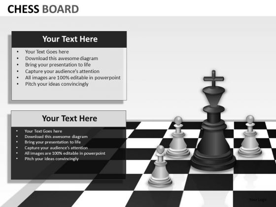 Business Leadership Chess PowerPoint Slides And Ppt Template Diagrams