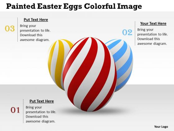 Business Level Strategy Painted Easter Eggs Colorful Image Pictures