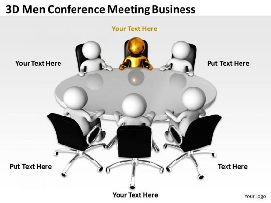 Business Logic Diagram Conference Meeting PowerPoint Templates Ppt Backgrounds For Slides